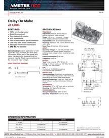TimeDelayRelays_Delay-On-Make-Z1-Series