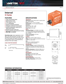 TimeDelayRelays_Interval-S1-Series