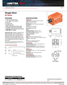 TimeDelayRelays_Single-Shot-K2-Series