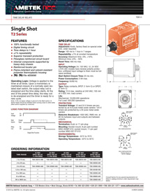 TimeDelayRelays_Single-Shot-T2-Series
