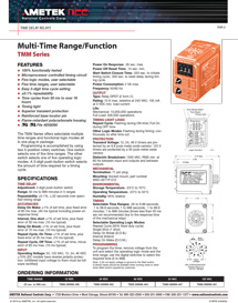 Solid State Timer Wiring Diagram from www.ametekncc.com